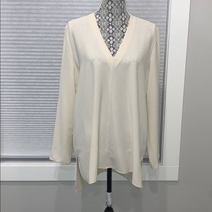 NWT Oak + Fort Off White Tunic Blouse